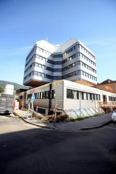 Forschungszentrum Leoben während der Sanierung. Fotos: J.J. Kucek