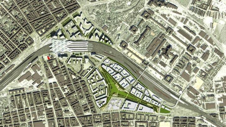 Endspurt am Belvedere: Wiens neuer Hauptbahnhof