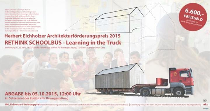 Herbert Eichholzer Architekturförderungspreis 2015