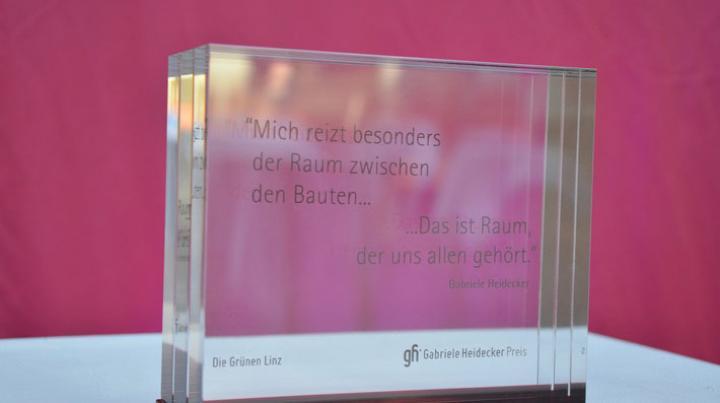 Verleihung des Gabriele Heidecker Preises 2014