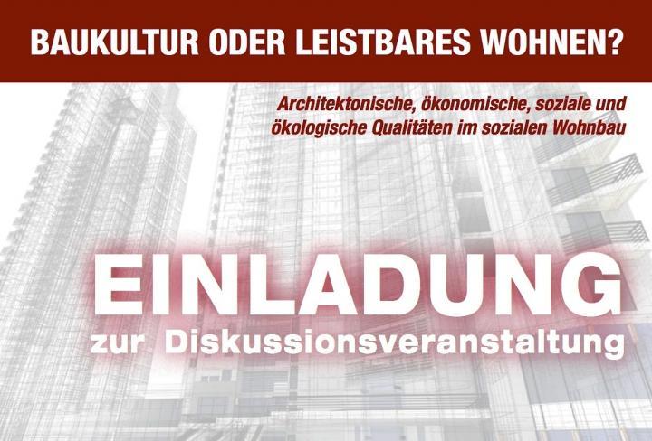 Einladung forum baumassiv Linz