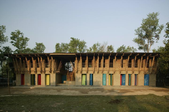 METI handmade school Schule in Rudrapur, Bangladesh