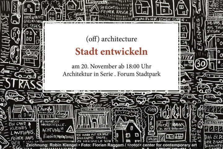 Forum Stadtpark: Stadt entwickeln