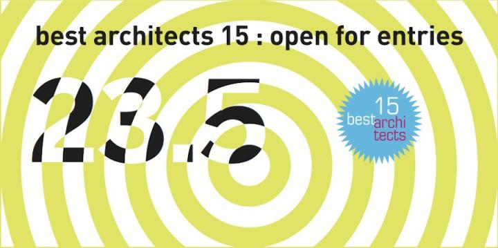 best architects 15 Award