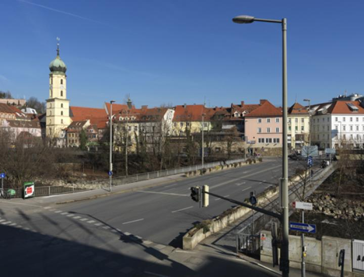 Pilotprojekt Tegetthoffbrücke Graz