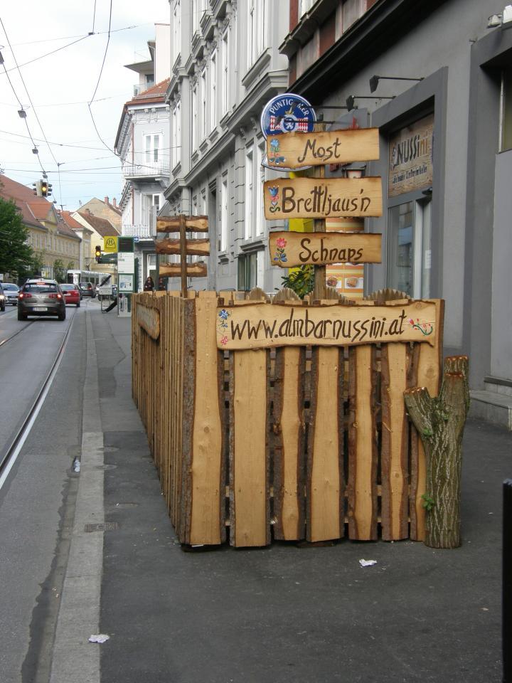 gastgarten leonhardstraße detail