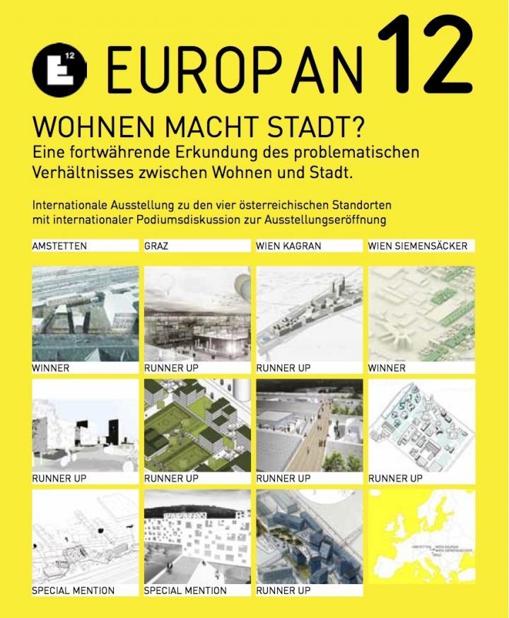 Europan12 - Wohnen macht Stadt?