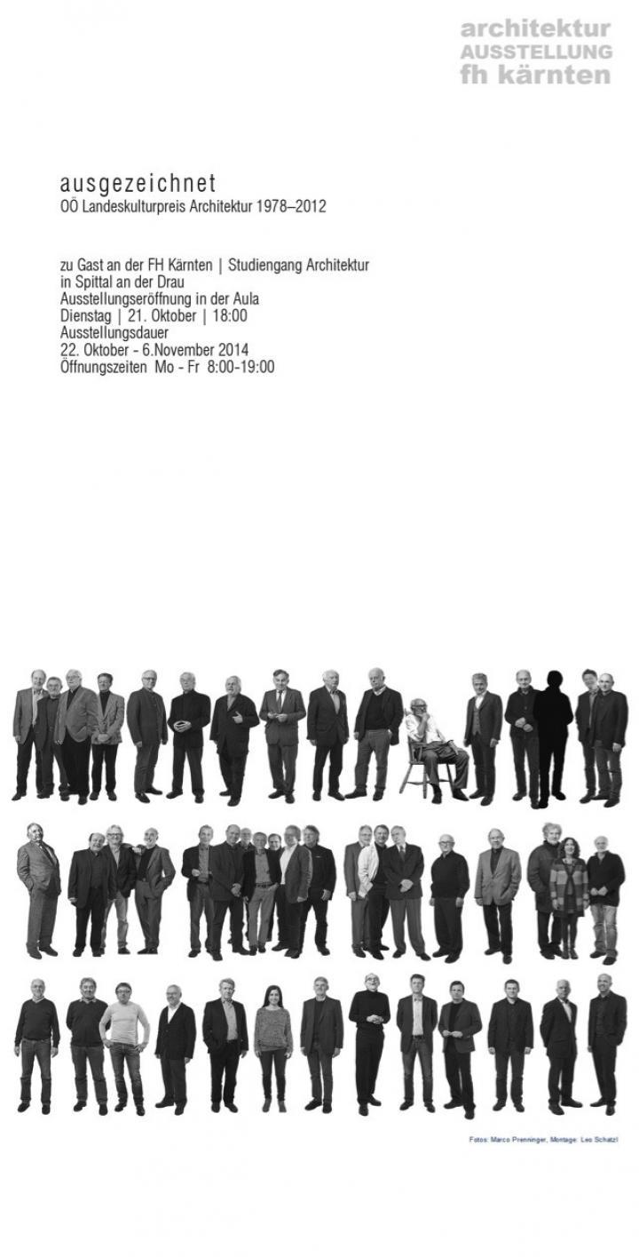 ausgezeichnet – OÖ Landeskulturpreis Architektur 1978 - 2012