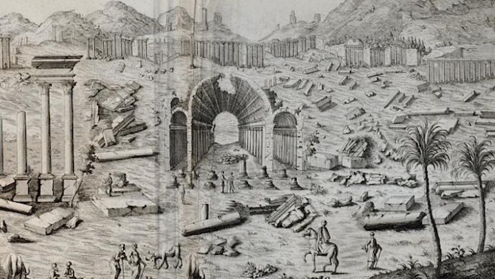 DIE RUINEN DER STATT PALMYRA