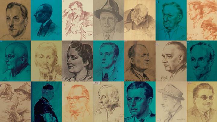 GrazMuseum:  Krebsenkeller - Portraits