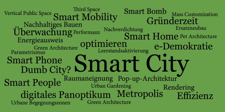 smart city textgrafik