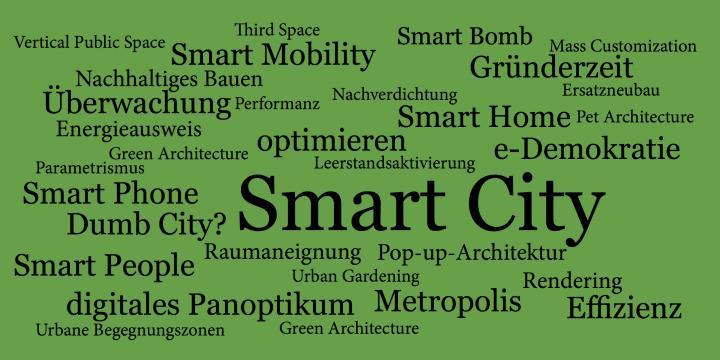 smart city textgrafik