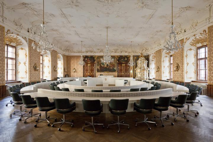 Sitzungssaal des Landtages Steiermark, Landhaus Graz