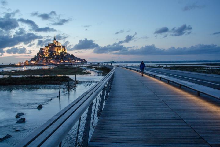 Mont Saint-Michel fertig