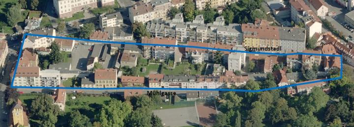 Stadtplanung Graz: Bebauungspläne Sigmundstadl