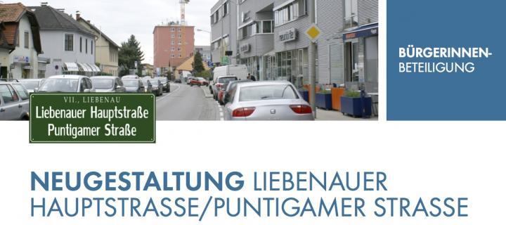 Einladung zur 2. BürgerInnen - Veranstaltung Liebenauer hauptstr.