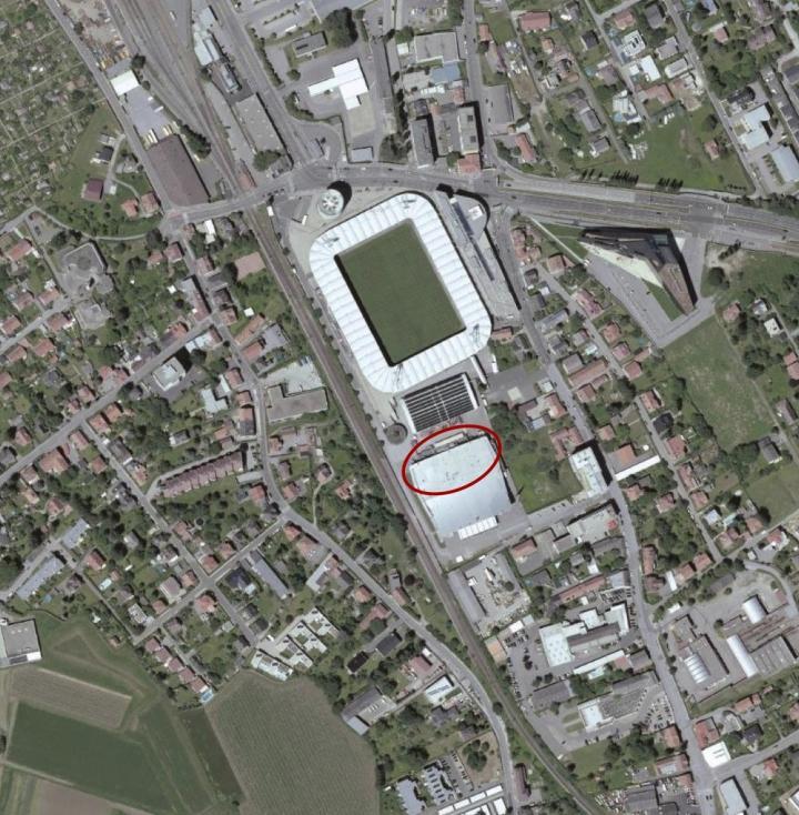 lageplan stadion liebenau