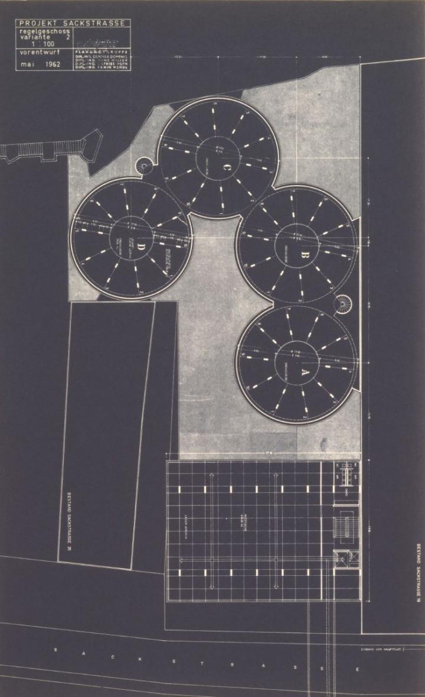 Projekt Sackstraße, 1962