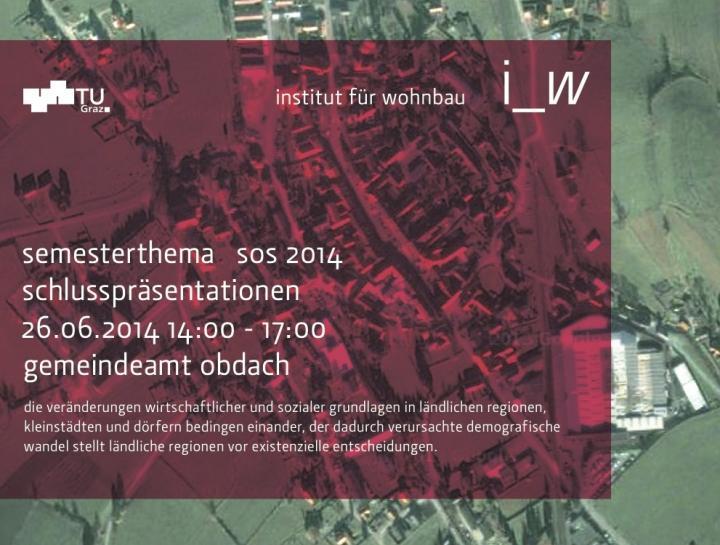 TU Graz_i_w: Schlusspräsentationen _ prekär Land Obdach