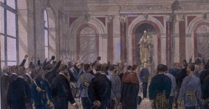 Eröffnung der TU Graz durch kaiser franz josef