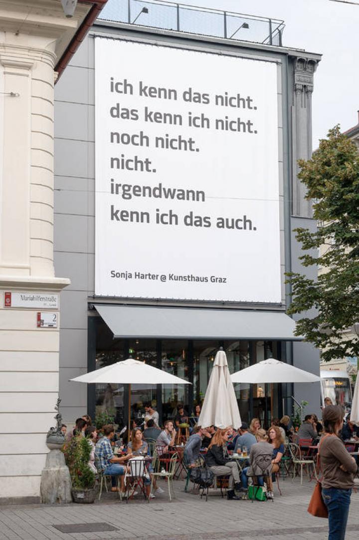 Kunsthaus Graz: Reihe Offenes Haus – Sonja Harter