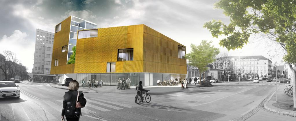 Graz andreas hofer platz in planung skyscrapercity - Renderings architektur ...