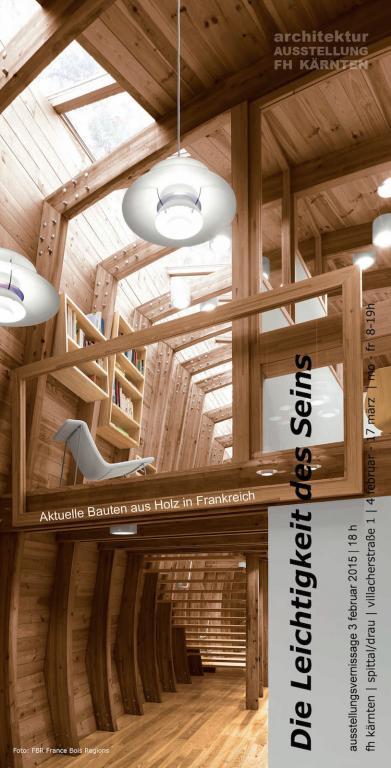 Die leichtigkeit des seins for Fachhochschule architektur